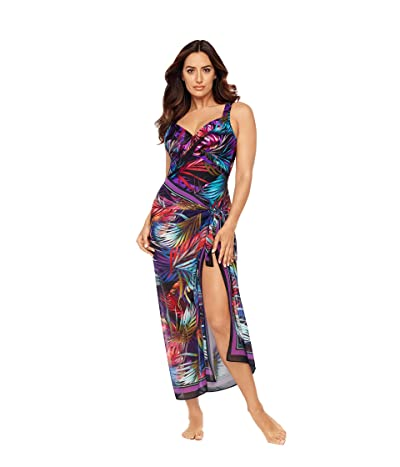 Miraclesuit Mystical Palms Scarf Pareo Cover-Up (Jungle) Women