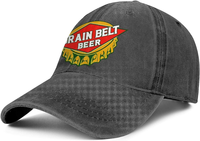 Mens Cowboy 4 years warranty Cap Grain-Belt- Cash special price Vintage Hat Cozy Trucker Adjustable