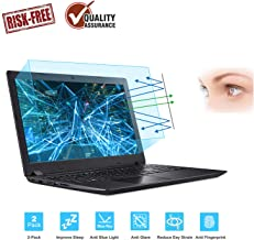 "FORITO 17.3"" Laptop Anti Blue Light Anti Glare Screen Protector, 2-Pack Eye Protection Blue Light Blocking Screen Protector for 17.3"" with 16:9 Aspect Ratio Laptop Screen(Size: 15"