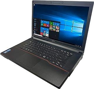 【Amazon.co.jp 限定】富士通 ノートPC A573/新品バッテリ搭載/15.6型/MS Office 2019/Win 10/Core i3-3120M/HDMI/WIFI/DVD/4GB/(整備済み品) (新品SSD 256GB)