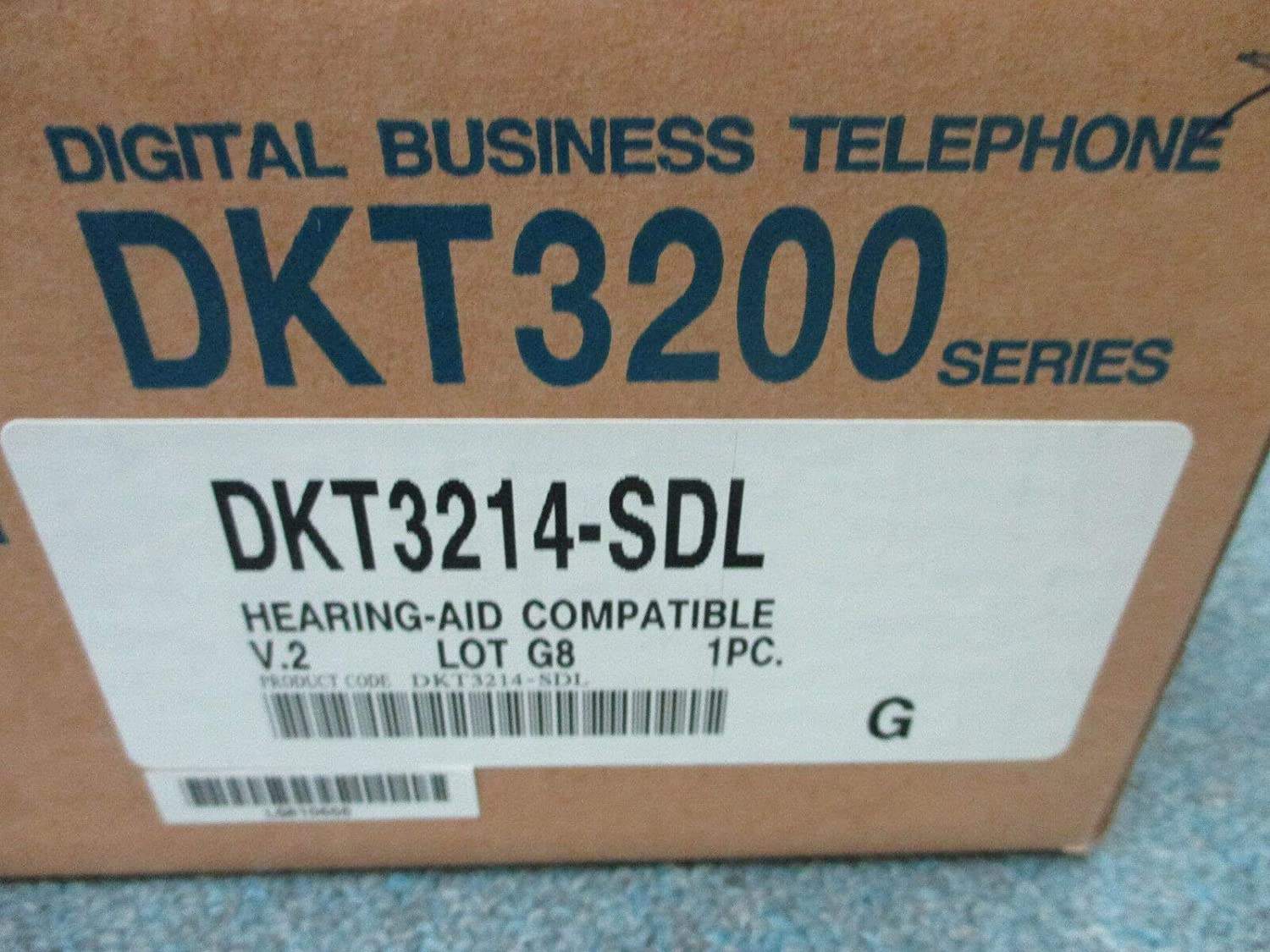 Toshiba Strata CIX CTX DKT 3214 Max 88% OFF SDL Large-scale sale Display Tele Button 14 Large