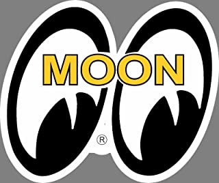 ION Graphics Moon Eyes 2 Rat Fink Rat Rod Old School Hot Rod Muscle Car Performance Sticker