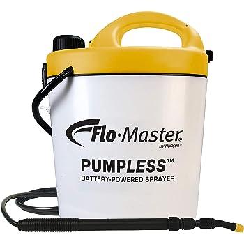 Flo-Master by Hudson 5BPL Pumpless 1.3 Gallon Battery Powered Sprayer, White