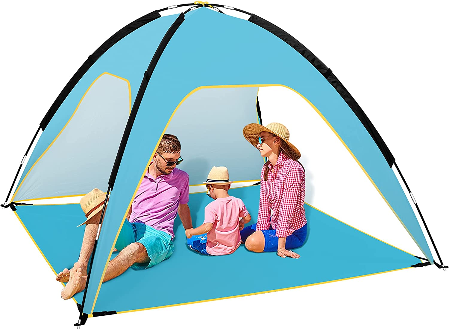 Fltom Beach Oakland Limited Special Price Mall Tent Portable Sun Shelter 50+ UPF UV Prot for