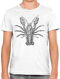 UAJAR Flowers Crab Baby Girls Short Sleeve Flounce Dress Comfortable Skirts T-Shirt