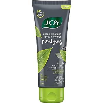 Joy Deep Detoxifying & Sebum Control Purifying Scrub with Tea Tree & Activated Charcoal 200ml