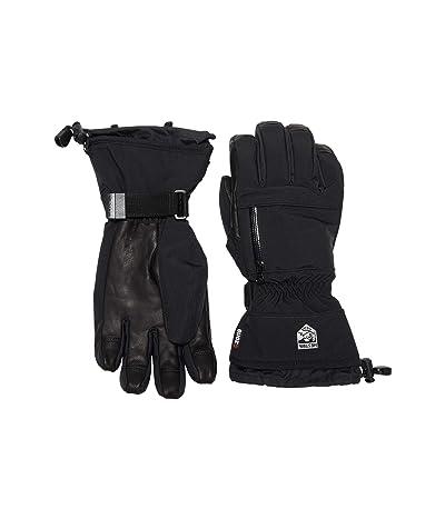 Hestra CZone Pointer Five Finger (Black) Ski Gloves