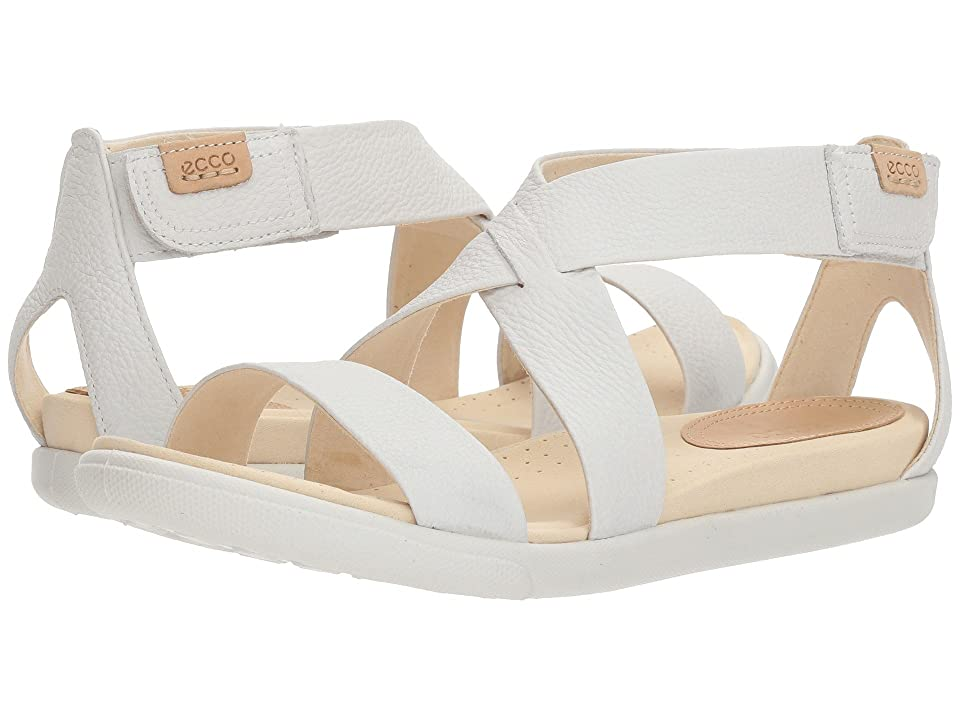 ECCO Damara Casual Sandal (White) Women
