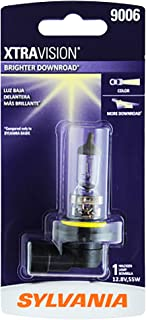 SYLVANIA - 9006 XtraVision - High Performance Halogen Headlight Bulb, High Beam, Low Beam and Fog Replacement Bulb (Contains 1 Bulb)