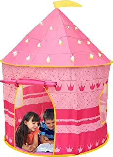 Casa de campaña para Niñas,Tienda del Castillo con Bolsa d