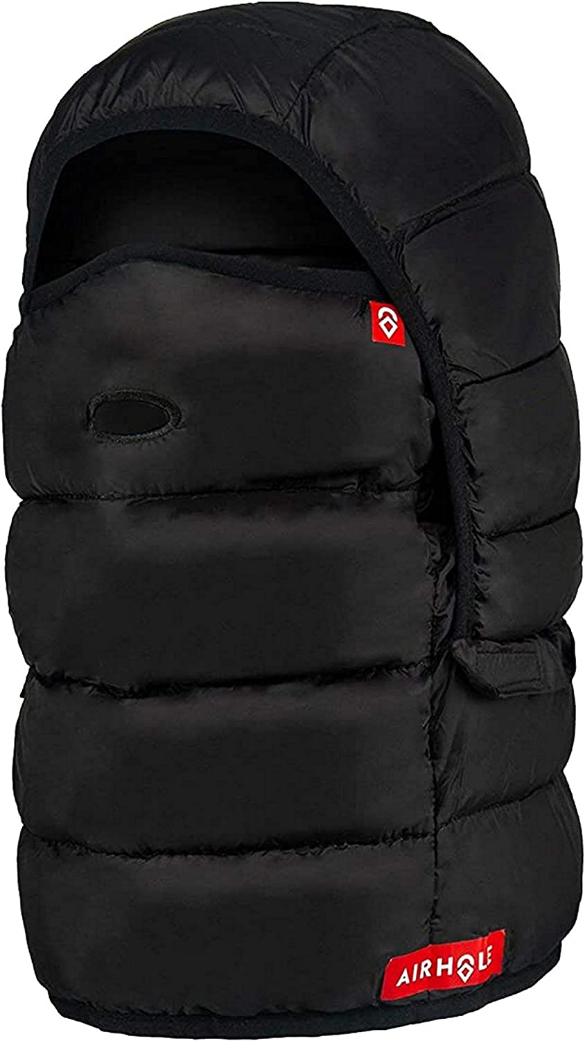 Airhole Unisex Airhood Packable Insulated Water Repellent Windproof Duck Down Balaclava Hood