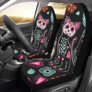 car seat covers with cats on them