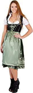 Oktoberfest Drindl Bavarian German Beer Girl Maid Costume Dress