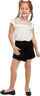 DeFacto Girl's - Maglietta a maniche corte