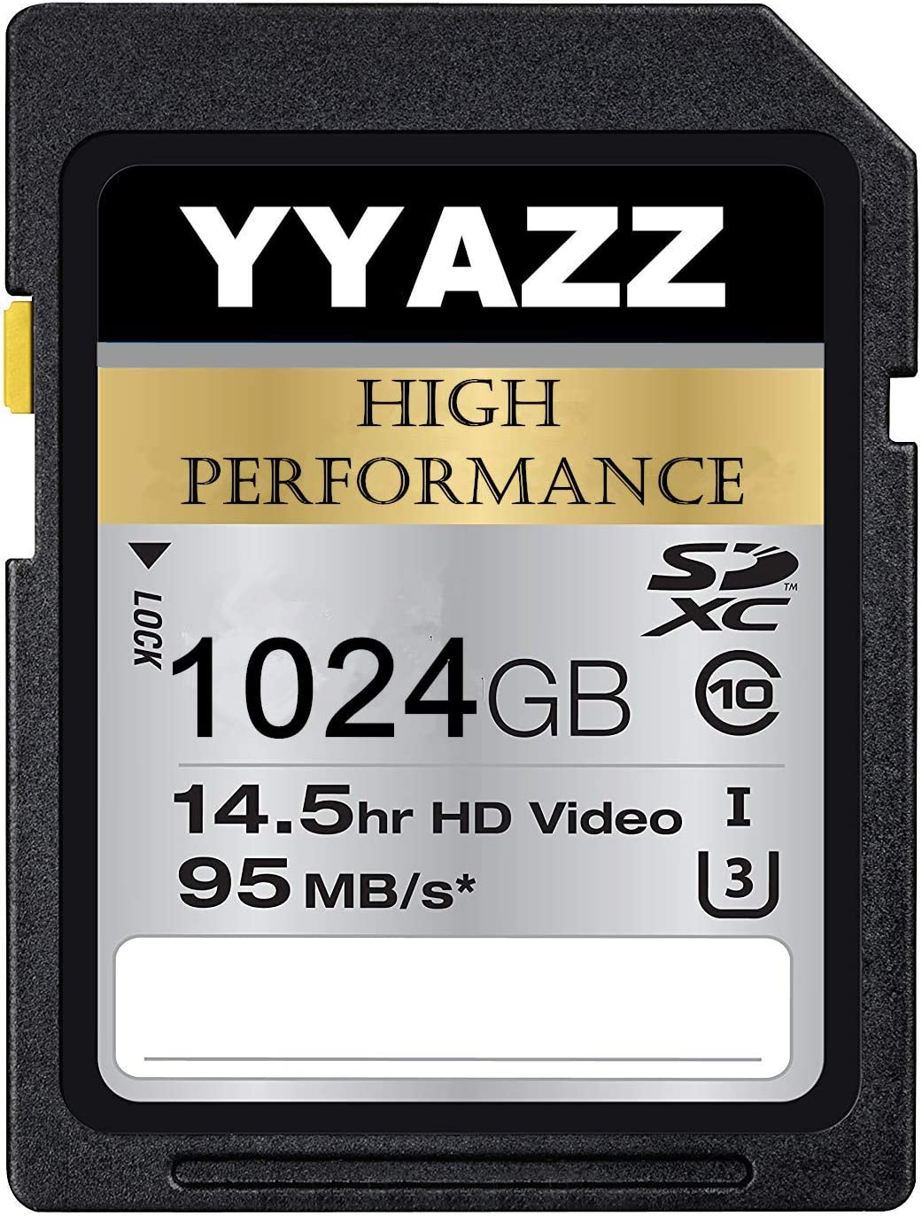 1024GB Memory Card, YYAZZ Professional Card U3 Memory Card Compatible Computer Cameras and Camcorders, Camera Card Memory Card Up to 95MB/s