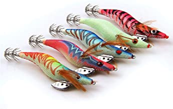 30PCS OCTOPUS SQUID JIG HOOK PROTECTOR PRAWN SHRIMP FISHING LURES BAIT COVER