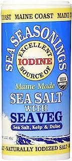Maine Coast, Sea Vegetables Seasonings, Sea Salt With Sea Vegetables, 1.50-Ounce (3 Pack)