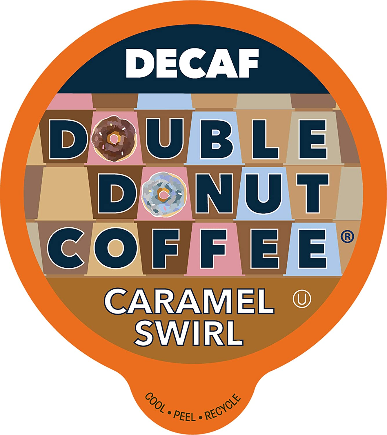 Double Donut Flavored Decaf Caramel Decaffeinated Limited time trial price Fashionable Coffee