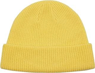 Classic Men's Warm Winter Hats Acrylic Knit Cuff Beanie Cap Daily Beanie Hat