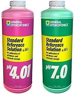 General Hydroponics Ph 4.01 & Ph 7.0 Calibration Solution Kit, 8 oz