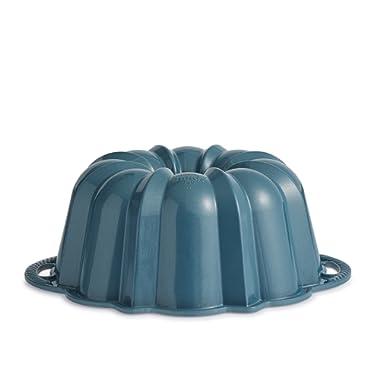 Nordic Ware Exclusive Bundt and Bundt Bag, Metallic Blue