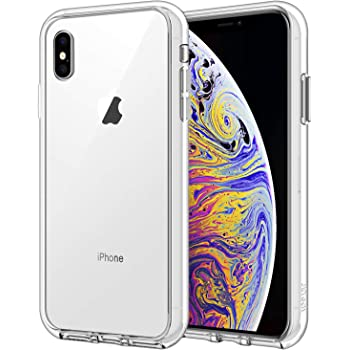 JETech Case for iPhone Xs Max 6.5-Inch, Shock-Absorption Bumper Cover (HD Clear)