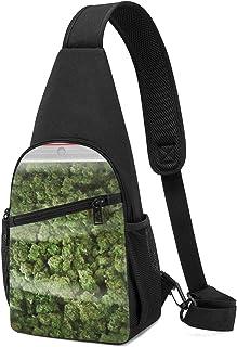 PGTry - Bolsa de malas hierbas, ligera, mochila para el pecho, bolsa cruzada, para viajes, senderismo, para hombres y mujeres