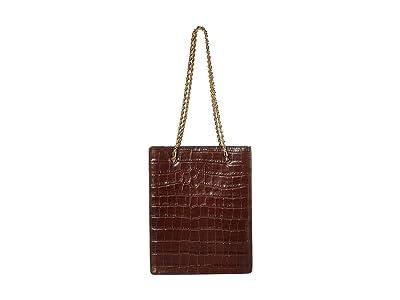 Loeffler Randall Antoinette Shopper Tote (Chocolate) Handbags