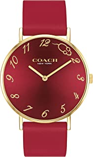 COACH PERRY WOMEN's RED DIAL WATCH - 14503486