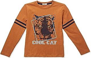 Adams Kids Pumpkin Round Neck T-Shirt For Boys