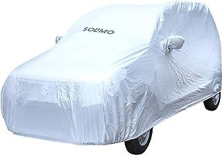 Amazon Brand - Solimo Maruti WagonR UV Protection & Dustproof Car Cover (Silver)