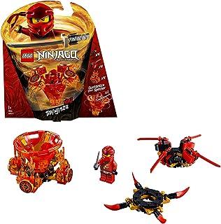 LEGO Ninjago - Spinjitzu Kai, peonza roja divertida de ninja de juguete (70659)