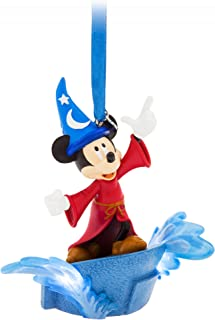Disney Sorcerer Mickey Mouse Light Up Sketchbook Ornament - Fantasia