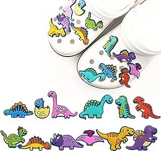 2 Mignon Dinosaure Jibbitz Crocs Shoe Charms Bracelet Bandes Cake Toppers Décorations