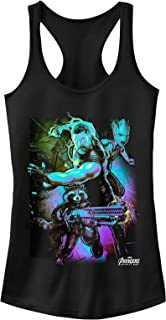 Marvel Juniors' Avengers: Infinity War Thor Lightning Racerback Tank Top