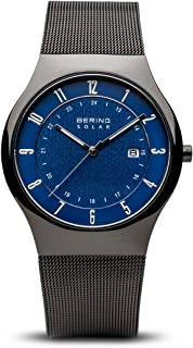 BERING Time 14640-227 Men Solar Collection Watch with Stainless-Steel Strap and Scratch Resistent Sapphire Crystal. Designed in Denmark