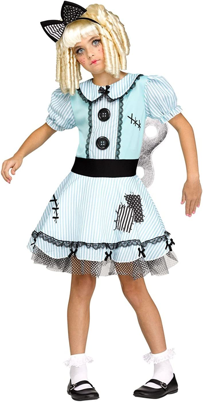 Wind?up Key Dolly Costume 55% OFF Blue Colorado Springs Mall Girls