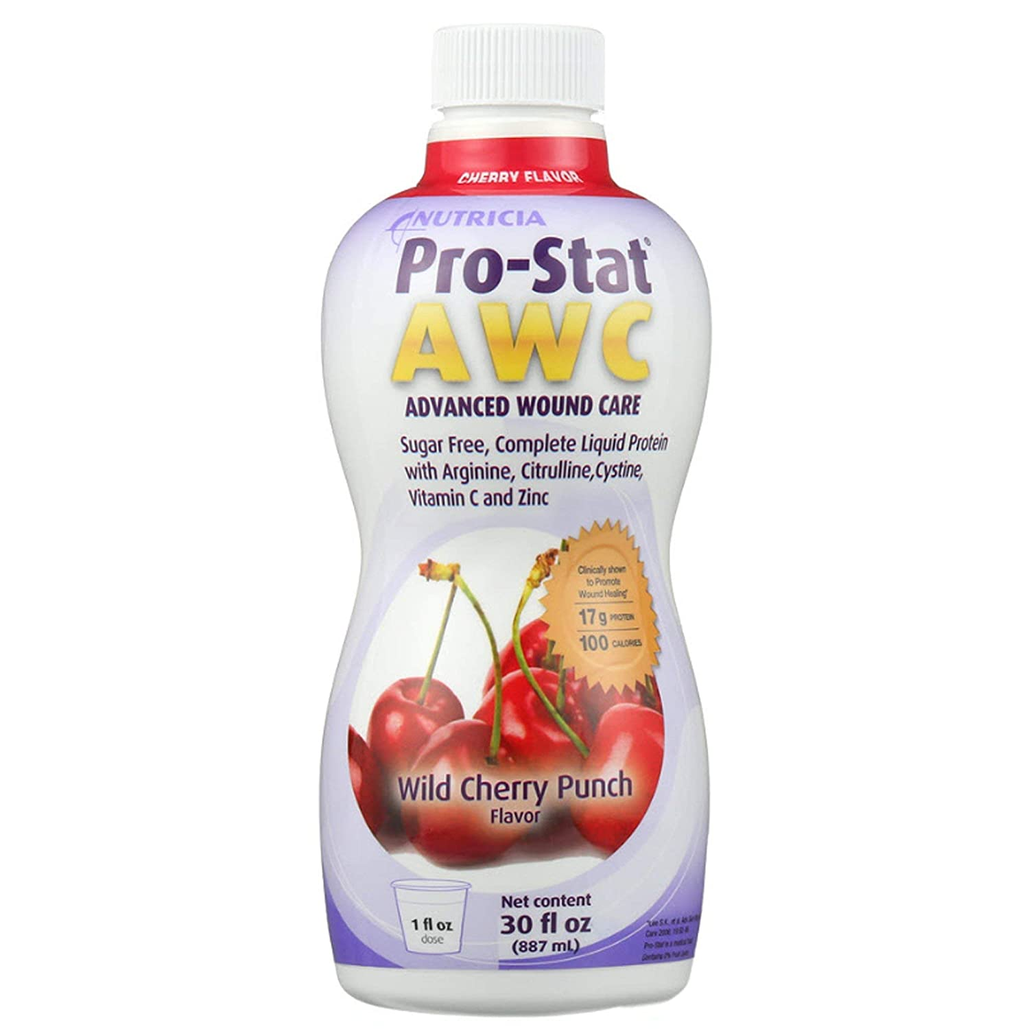 Pro-Stat Sugar Free Large-scale sale AWC Protein Supplement Cherry Surprise price Fla Wild Punch