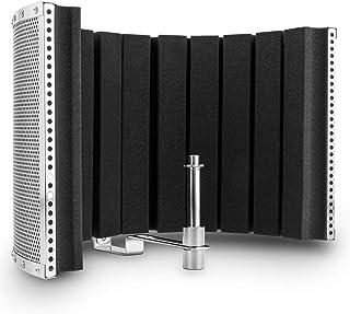 auna MP32 MKII microfoon akoestisch scherm (geluiddemper, diffusor tegen reflecties voor studiomicrofoons, incl. adapter) ...