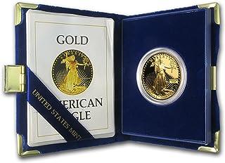 1986 W - Present 1 oz Proof Gold American Eagle (Random Year, w/Box & COA) 1 OZ Brilliant Uncirculated