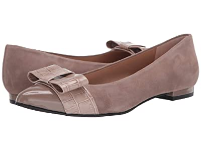 French Sole Onstage (Taupe Suede/Croco) Women