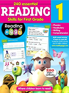 Reading for 1st Grade - 240 Essential Reading Skills (Reading Eggs)