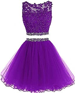 Dydsz Women's Prom Homecoming for Party Dressiece Tulle
