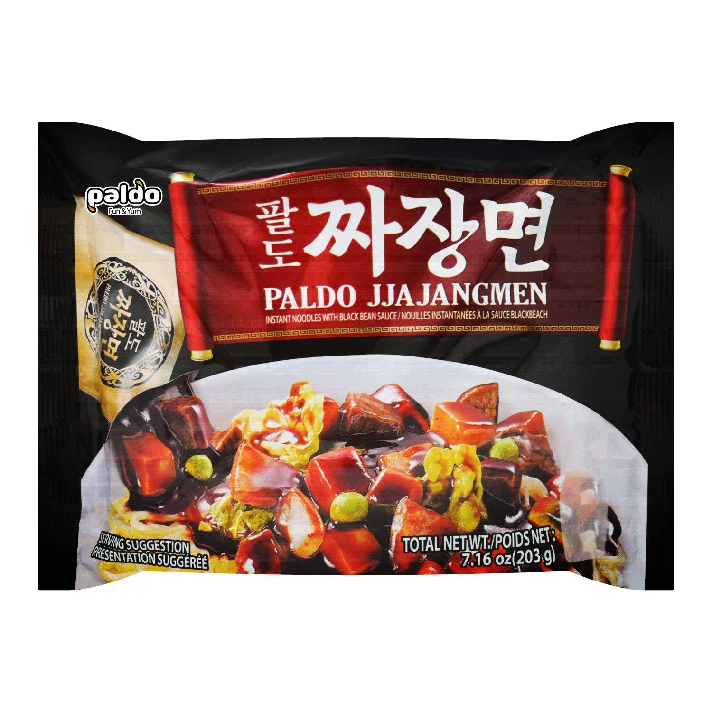 Paldo Fun & Yum Jjajangmen Instant Noodle 4-Pack
