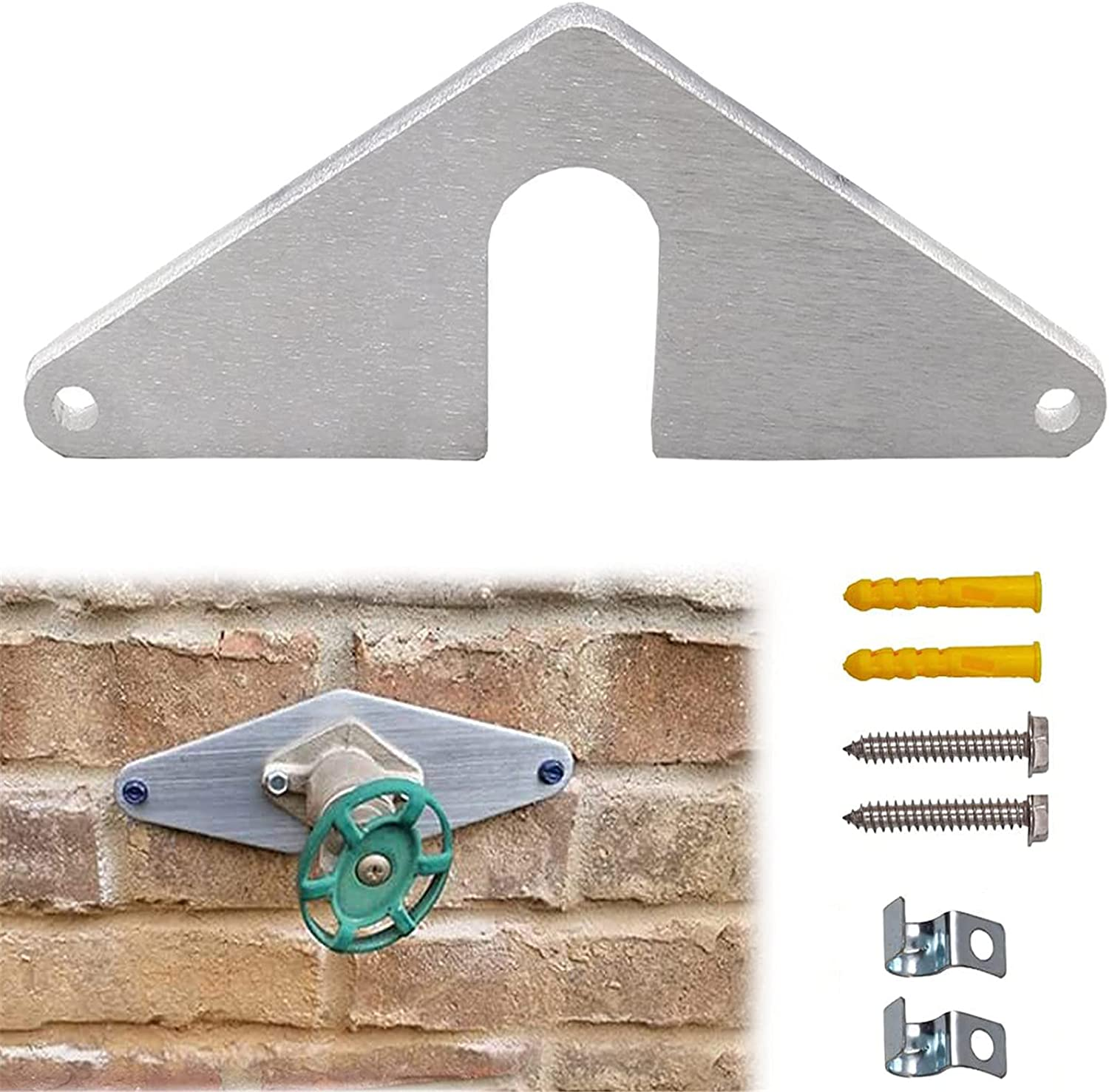 1 Set Hose Some reservation Bib unisex Mounting -Without Removing Plate Faucet