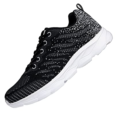 JARLIF Women's Breathable Tennis Running Shoes