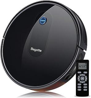 Alexa Aspirateur et Laveur 2000Pa Proscenic 830T Robot Aspirateur Laveur Commande vocale Google Nettoyage du Calendrier de lapplication,Nettoyage Humide 180㎡Maison