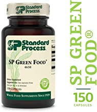 Standard Process - SP Green Food - Supports Healthy Liver Function, Antioxidant Activity, Cholesterol Metabolism, Gluten Free and Vegetarian - 150 Capsules