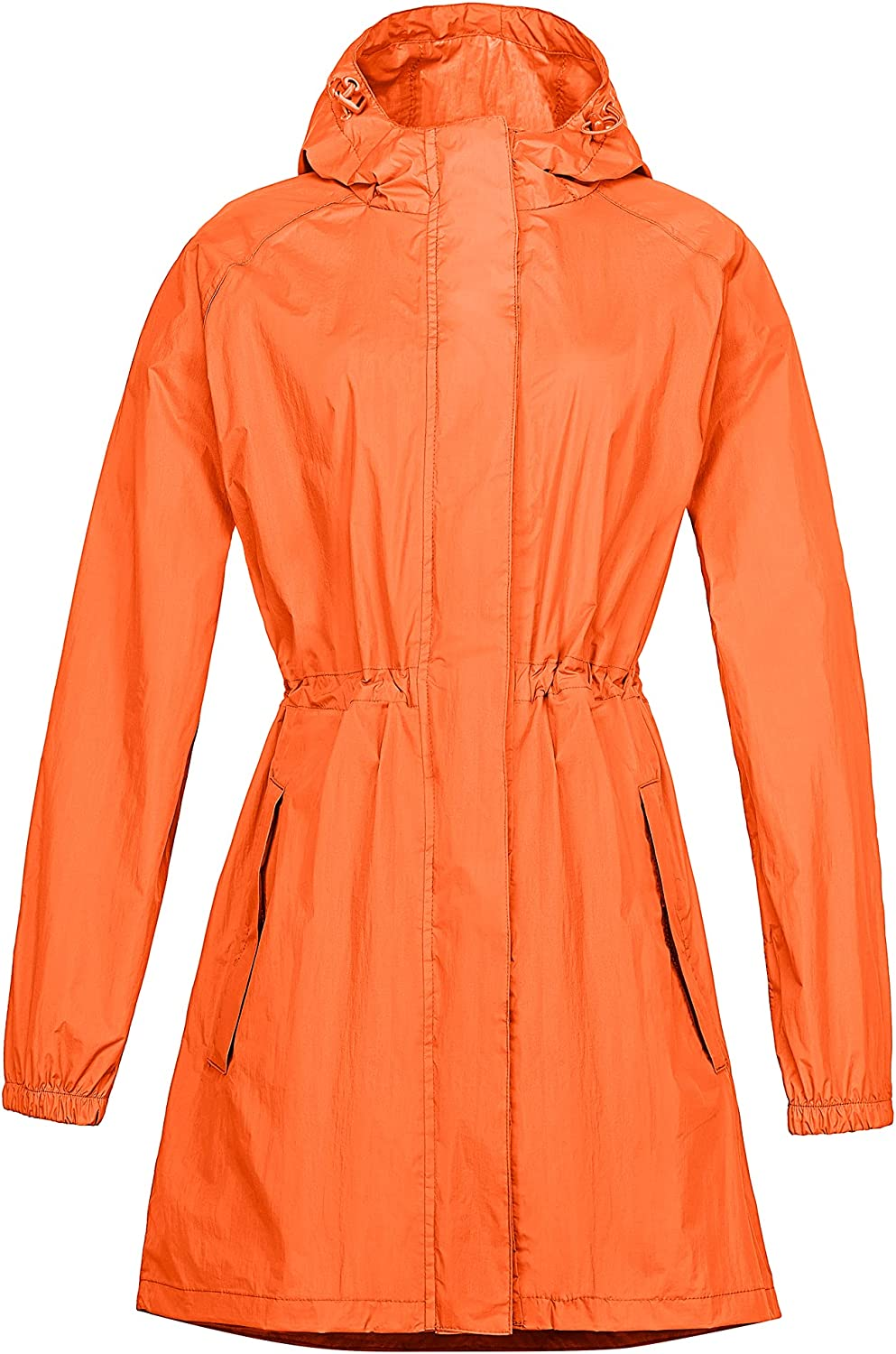 33 5% OFF 000ft Women's Long Rain with Waterproof Limited time for free shipping Jackets Packable Hood