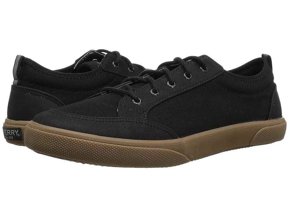 Sperry Kids Deckfin (Little Kid/Big Kid) (Black/Gum) Boys Shoes